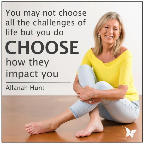 Share wisdom of Allanah Hunt
